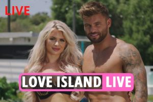 Love Island 2021 LIVE – Jack, Dale and Sam enter Casa Amor villa as Liam gets a lap dance AND a three way kiss