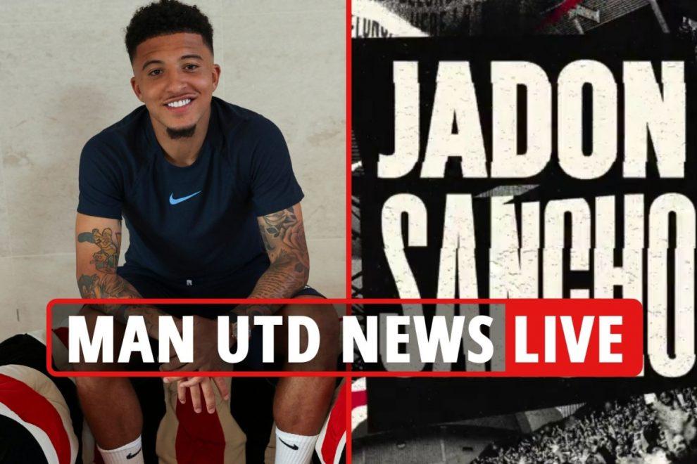Man Utd CONFIRM Sancho transfer in statement, Goretzka transfer link, Pogba contract LATEST, Varane UPDATE