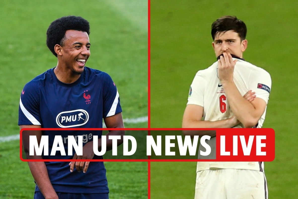 Man Utd transfer news LIVE: Kounde 'only wants United move', Maguire father breaks ribs at Wembley, 'Varane bid shortly'