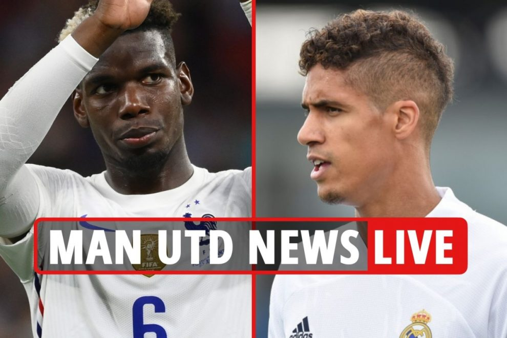 Man Utd transfer news LIVE: Pogba transfer UPDATE, Varane deal 'very close', Camavinga to cost between £34-£43m