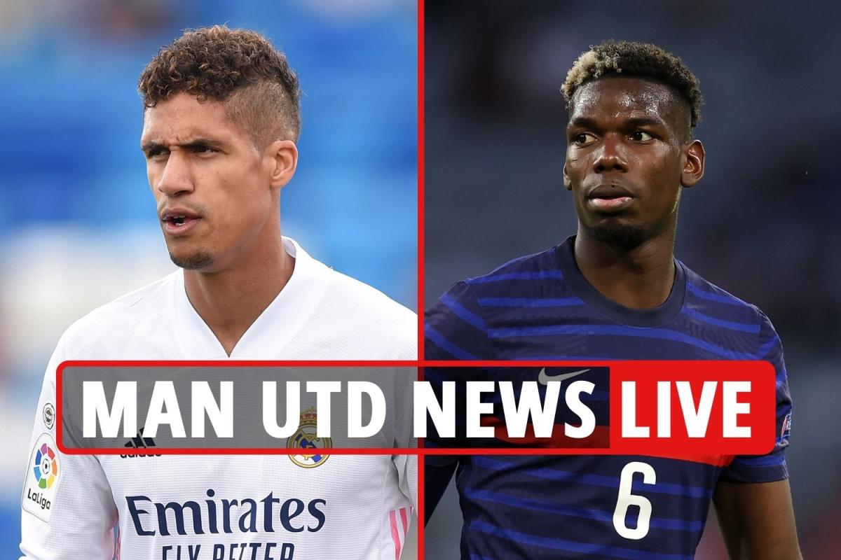 Man Utd transfer news LIVE: Varane swoop LATEST, Pogba wants PSG switch despite contract talks, Saul Niguez update