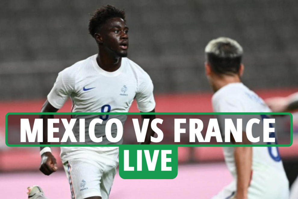 Mexico vs France LIVE: Live stream FREE, TV channel,  team news for Olympic Football group game – latest updates