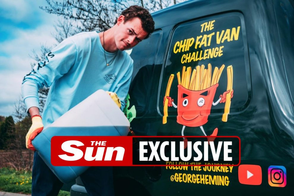 Motorist drives up and down length of UK in van fuelled solely by cooking oil