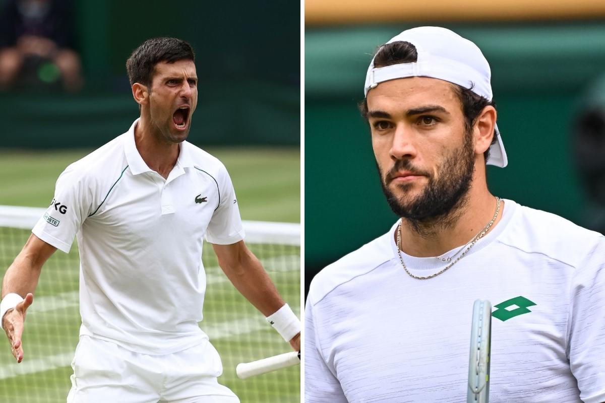 Novak Djokovic vs Matteo Berrettini FREE: Live stream, TV channel and start time for TODAY'S Wimbledon men's final