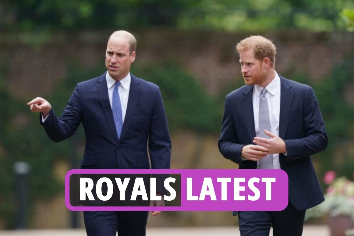 Royal family news – Prince Harry 'will never be 'trusted' by William' as Duke rushes back to LA following Diana memorial