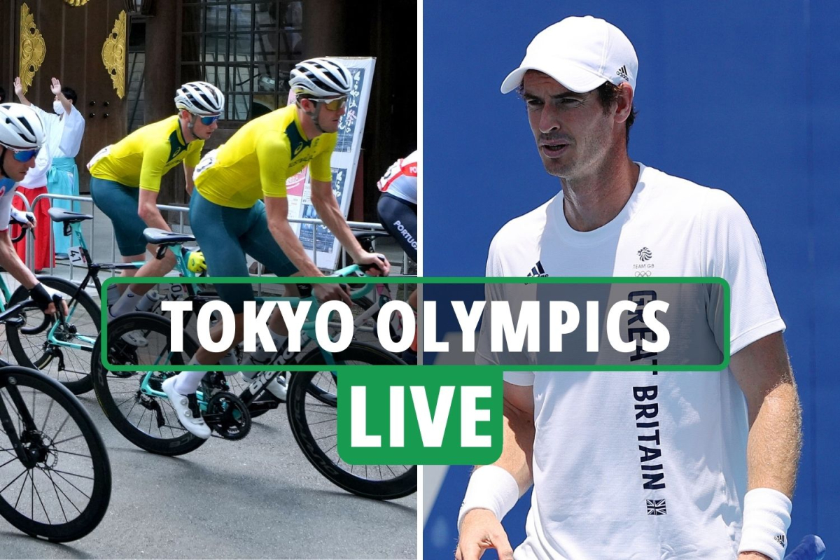 Tokyo 2020 Olympics Day 1 LIVE RESULTS: Geraint Thomas FALLS in cycling road race, Andy Murray THROUGH in doubles