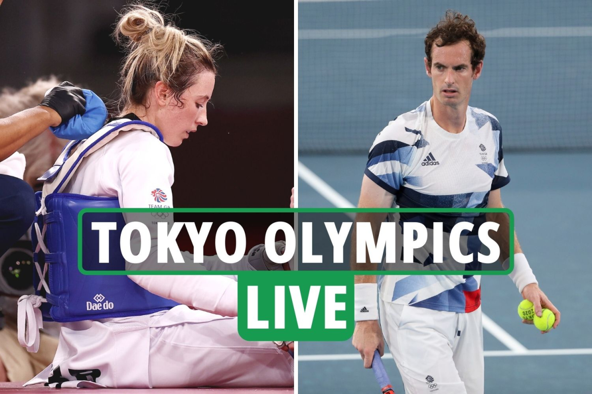Tokyo Olympics 2020 Day 2 LIVE RESULTS: Andy Murray WITHDRAWS, Jade Jones OUT, Adam Peaty breezes into final