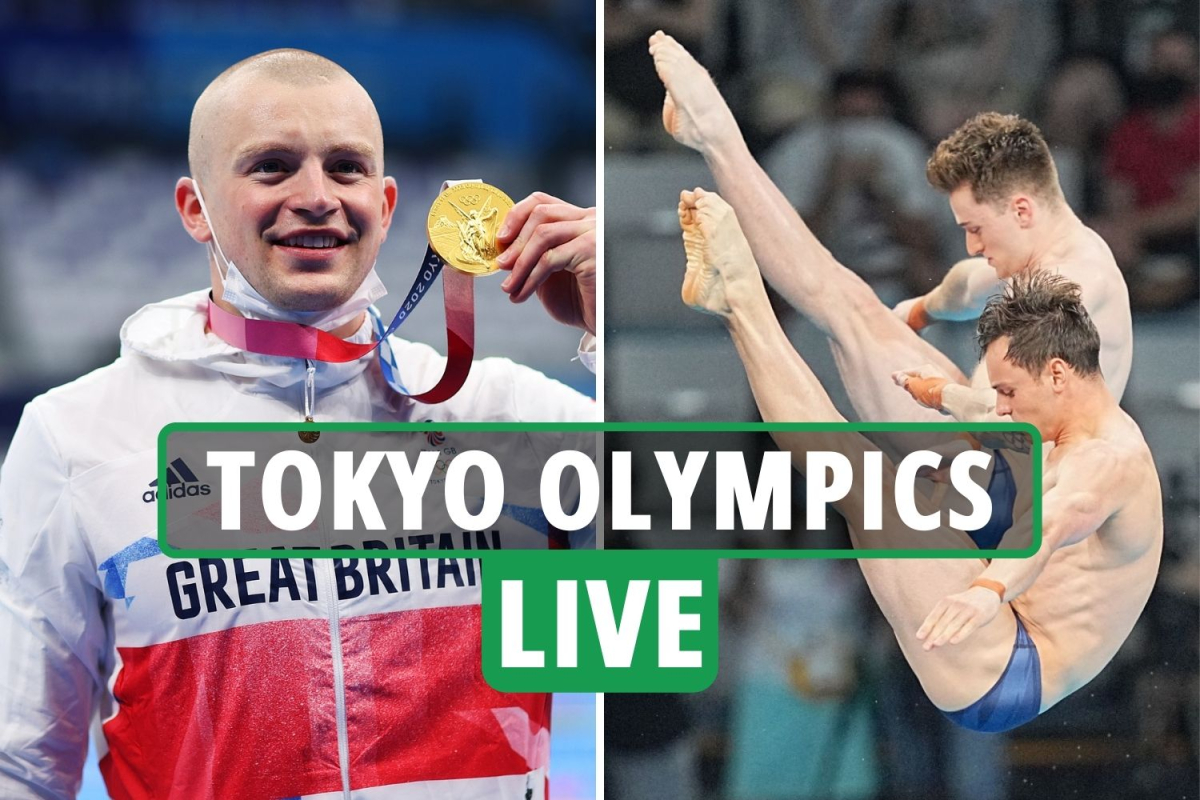 Tokyo Olympics 2020 Day 3 LIVE RESULTS: Gold rush as Tom Daley and Matty Lee win diving, Tom Pidcock and Adam Peaty win