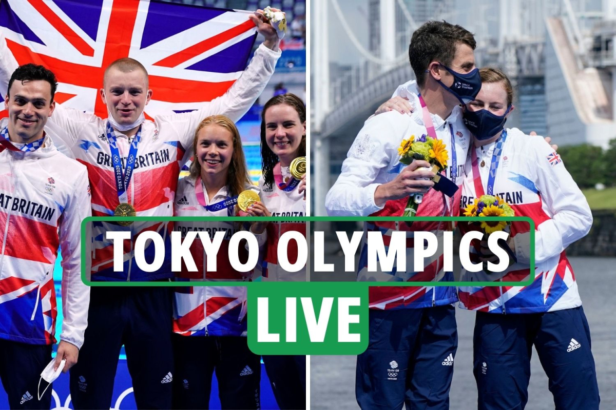 Tokyo Olympics LIVE RESULTS: Dina Asher-Smith OUT of 100m in semi, GB win TWO golds in swimming & triathlon – updates