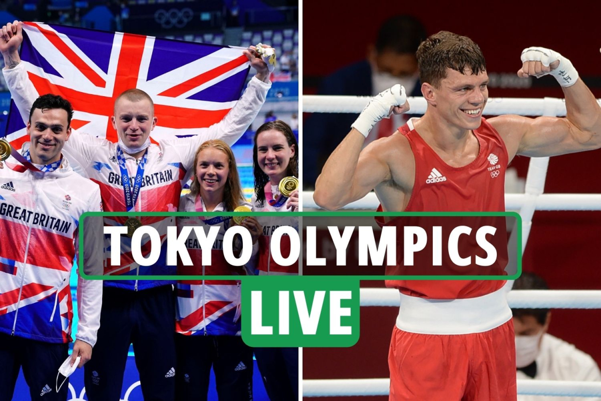 Tokyo Olympics LIVE RESULTS: Peaty goes for golden TREBLE on Day Nine, Asher-Smith OUT, boxing finals – latest updates