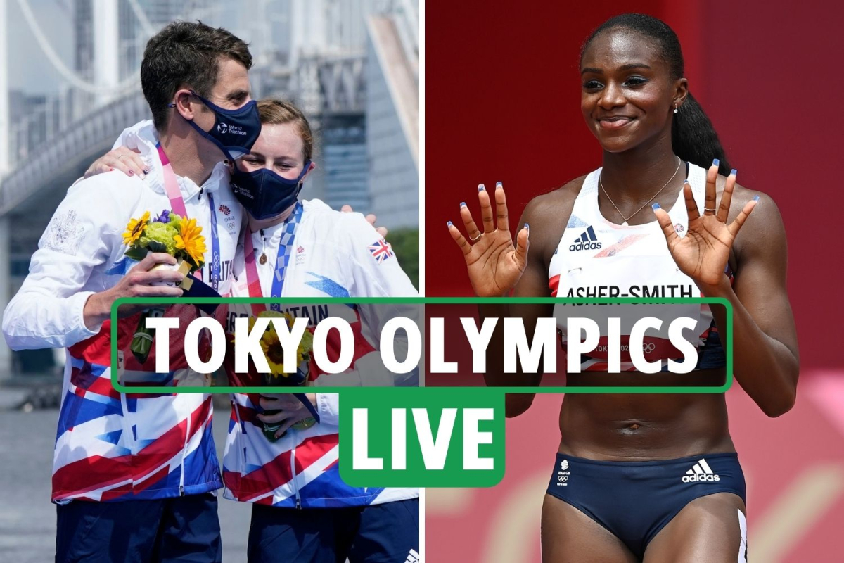 Tokyo Olympics LIVE RESULTS: Team GB win GOLD in Triathlon relay and mixed medley, Asher-Smith later – updates