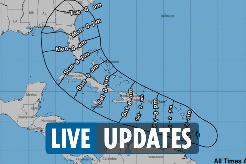 Tracking Hurricane Elsa: Category 1 storm barrels toward the Caribbean and takes aims for Florida