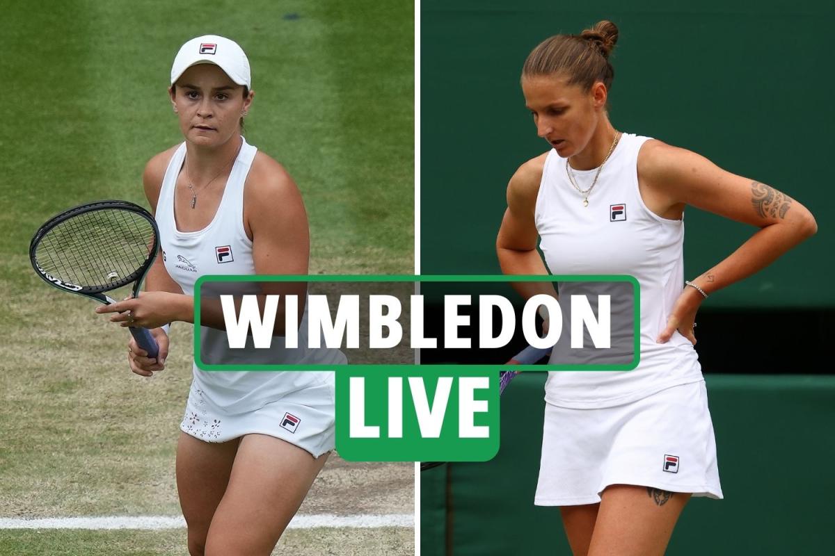 Wimbledon 2021 Ladies' final LIVE RESULTS: Barty takes 1st set 6-3 but Pliskova fires back with 2nd-set tiebreak win