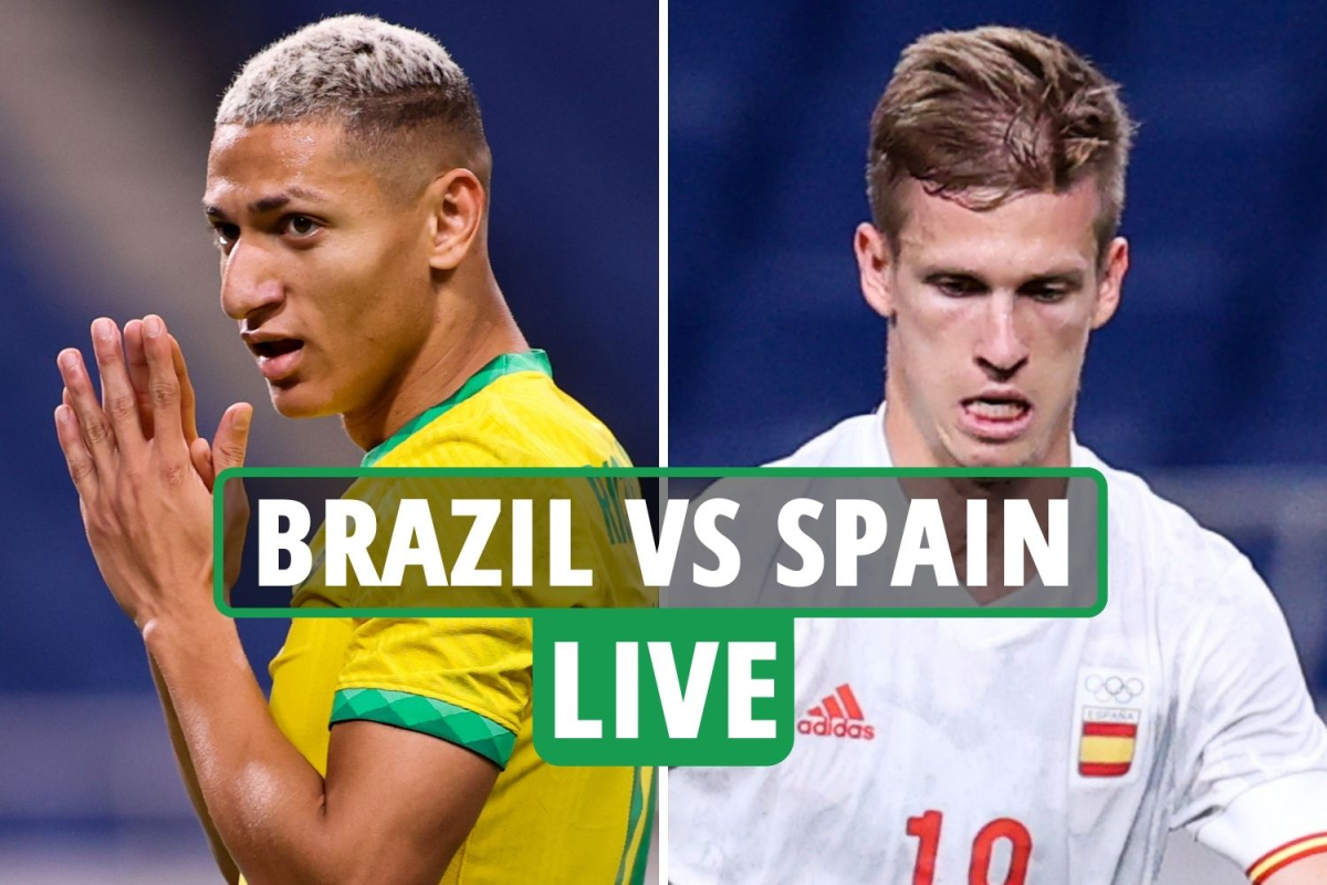 Brazil vs Spain LIVE: Stream, TV channel, kick-off time, team news for Olympic football gold medal final TODAY