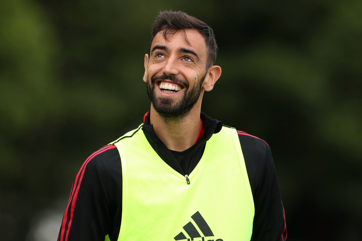 Bruno Fernandes names two Man Utd youngsters who have 'brilliant future' and picks out Anthony Elanga for special praise