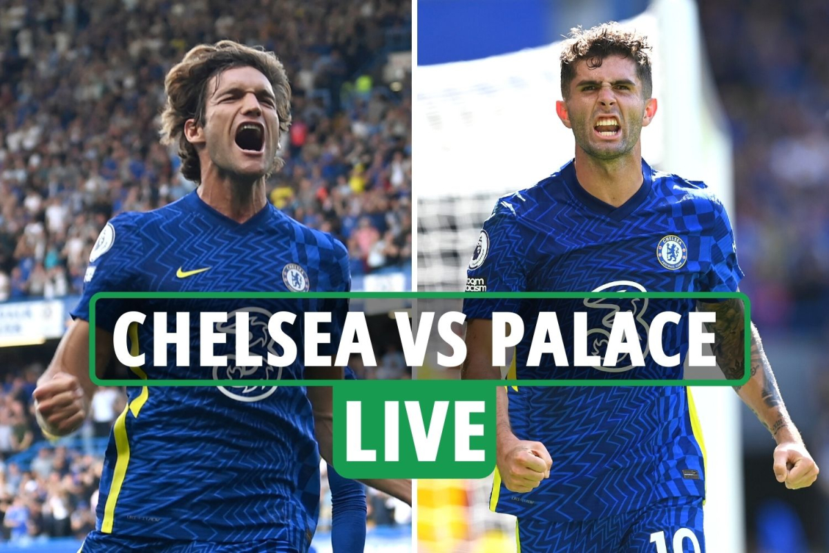 Chelsea vs Crystal Palace LIVE SCORE: Alonso and Pulisic both net with Blues in total charge – Premier League latest