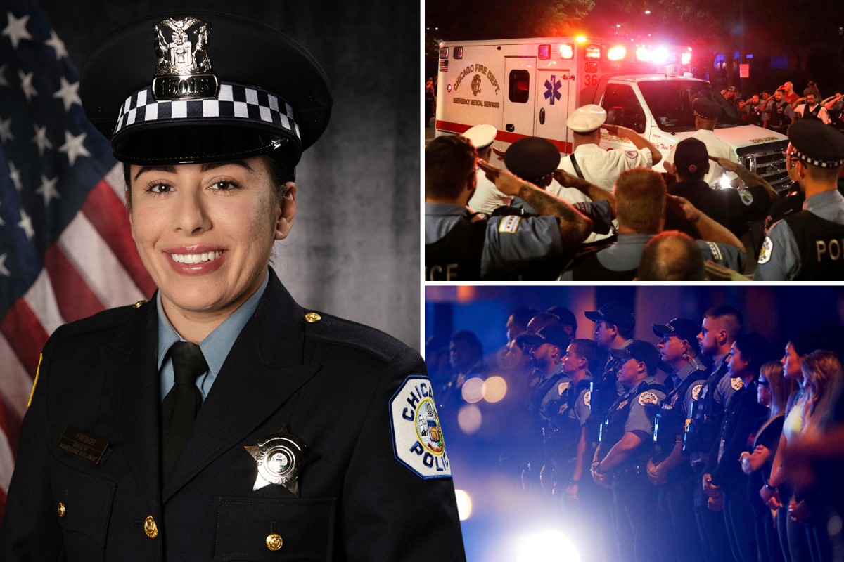 Chicago police shooting – Cop Ella French's family shares tribute after suspect wrestled to the ground by onlookers