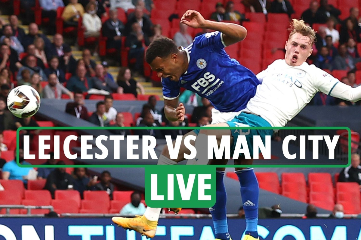 Leicester vs Man City LIVE SCORE: Stream FREE, TV channel, kick-off time for Community Shield as Grealish on bench
