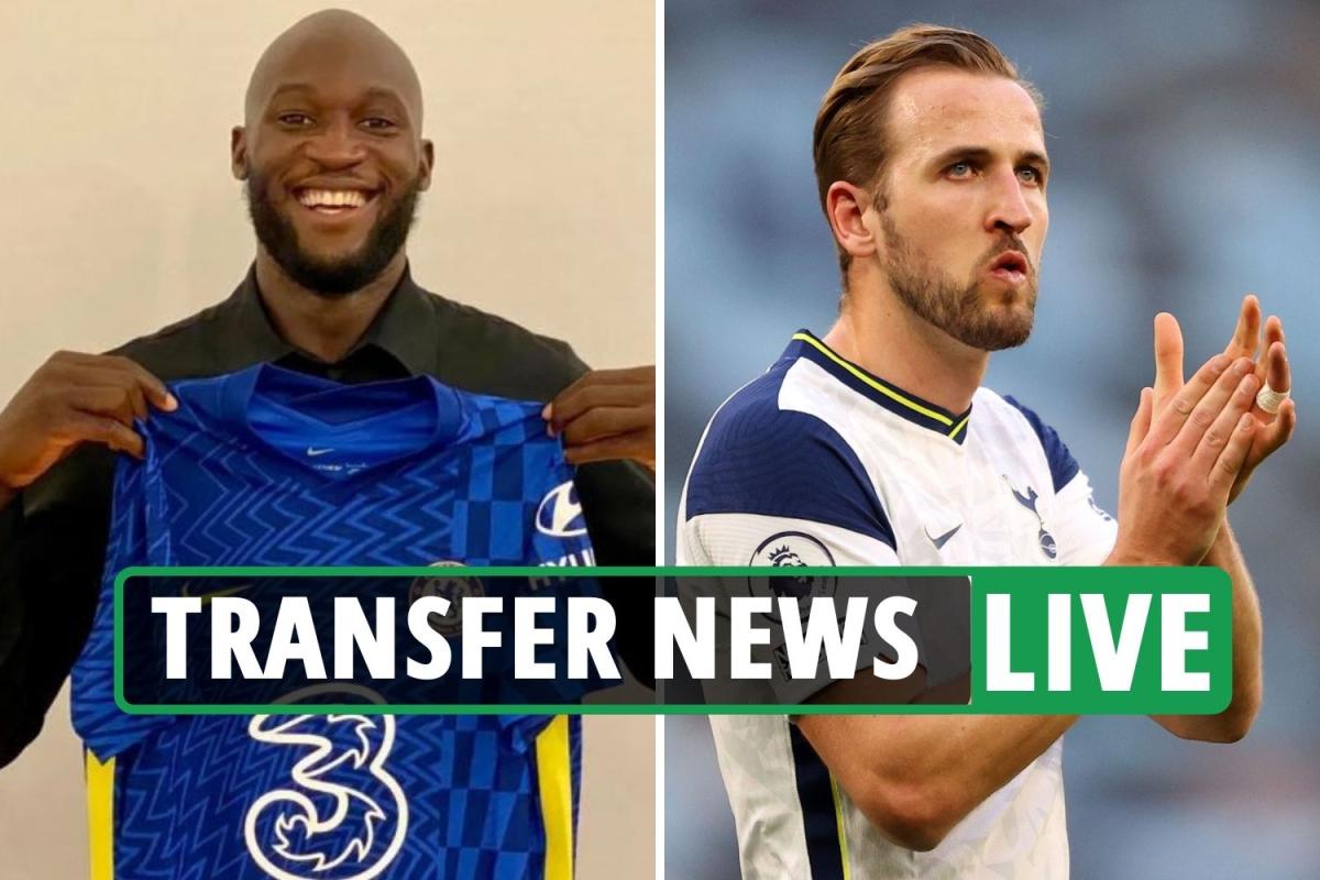 Lukaku to Chelsea CONFIRMED, City launch 'new £127m Harry Kane bid', PSG 'eye Cristiano Ronaldo' – transfer news LIVE