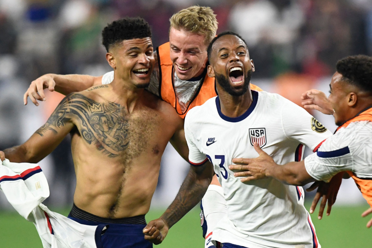 Robinson's last-gasp header seals Gold Cup glory for USA over Mexico as American side complete summer double over rivals