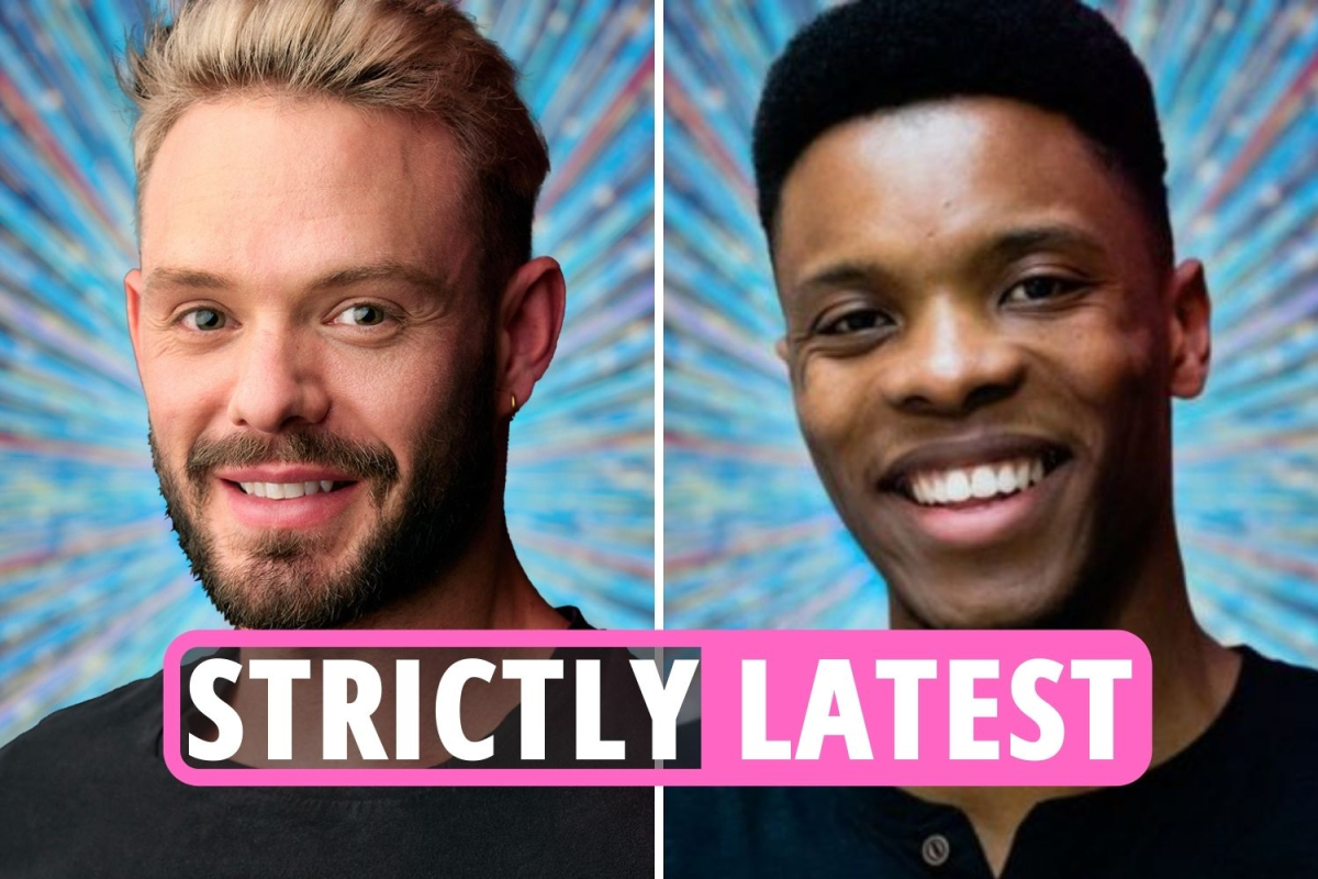 Strictly Come Dancing 2021 LIVE – Rhys Stephenson becomes latest contestant to join John Whaite and Robert Webb