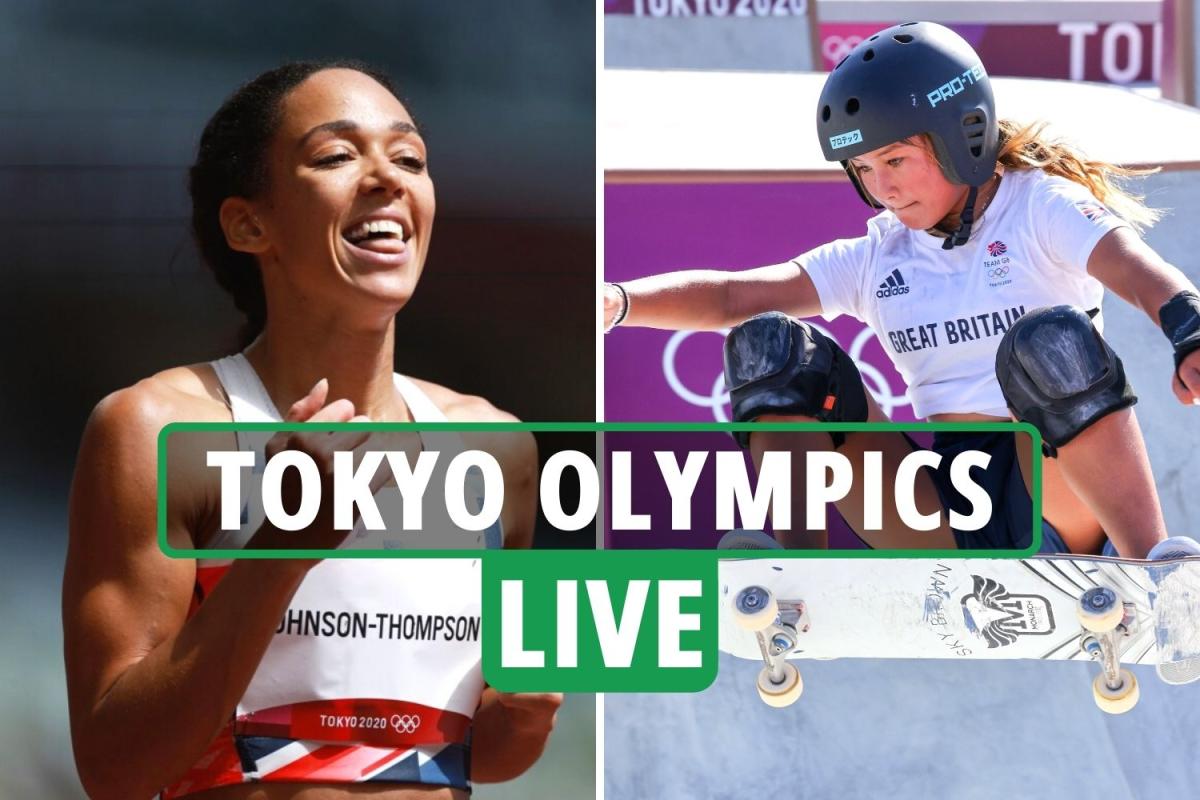 Tokyo Olympics LIVE RESULTS: Sky Brown goes for skateboarding gold, KJT heptathlon high jump woes, Dutch thump GB hockey