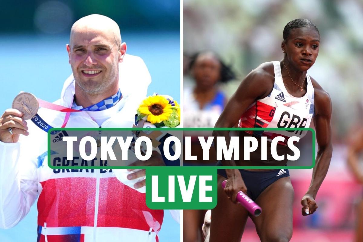 Tokyo Olympics LIVE RESULTS: Team GB set record in 4x100m relay heat, Liam Heath bronze in canoe sprint – updates