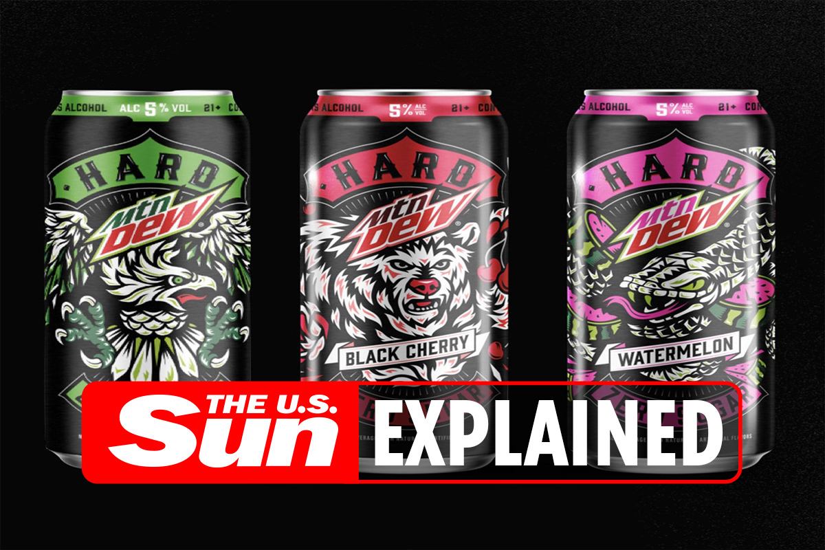 What is hard Mountain Dew and when will it be available to buy?