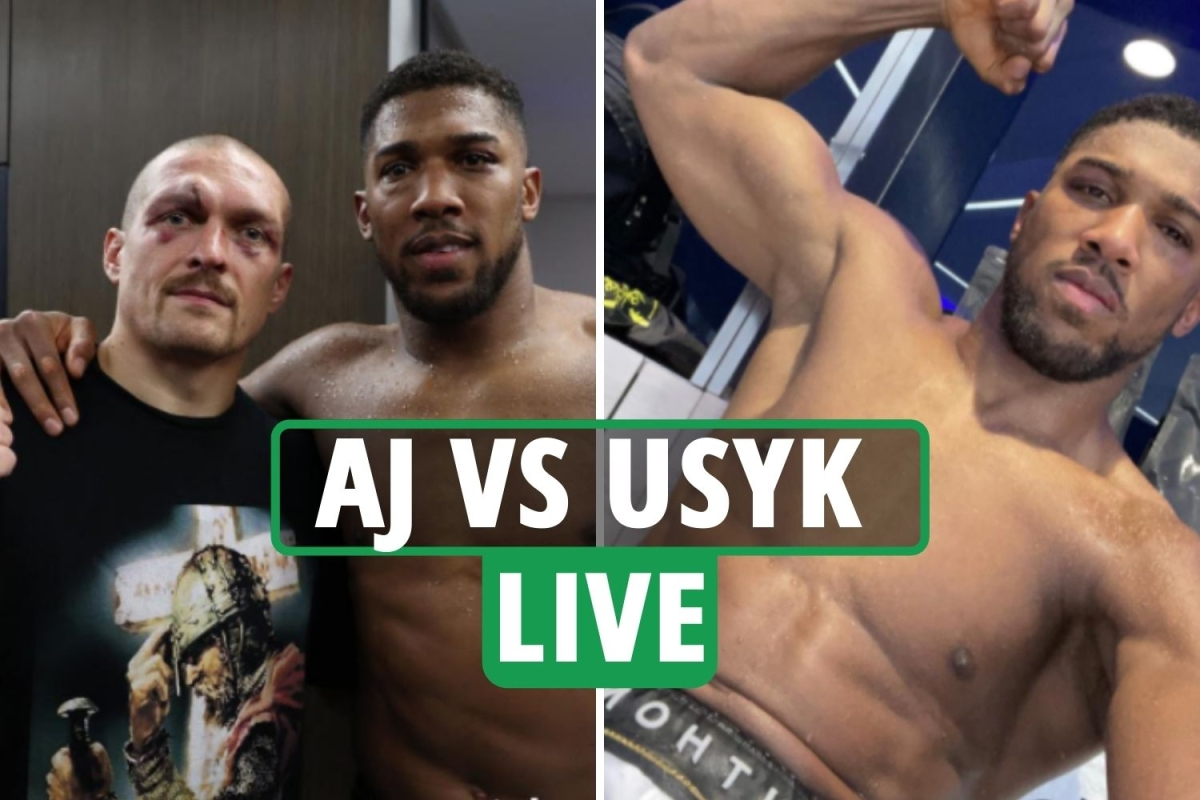 Anthony Joshua vs Oleksandr Usyk LIVE RESULTS: AJ suffers a 'suspected damaged eye socket' in defeat – latest reaction