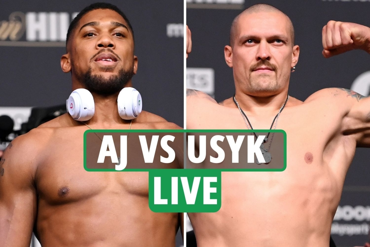 Anthony Joshua vs Oleksandr Usyk LIVE RESULTS: Campbell Hatton controversy – UK start time, TV, live stream, undercard