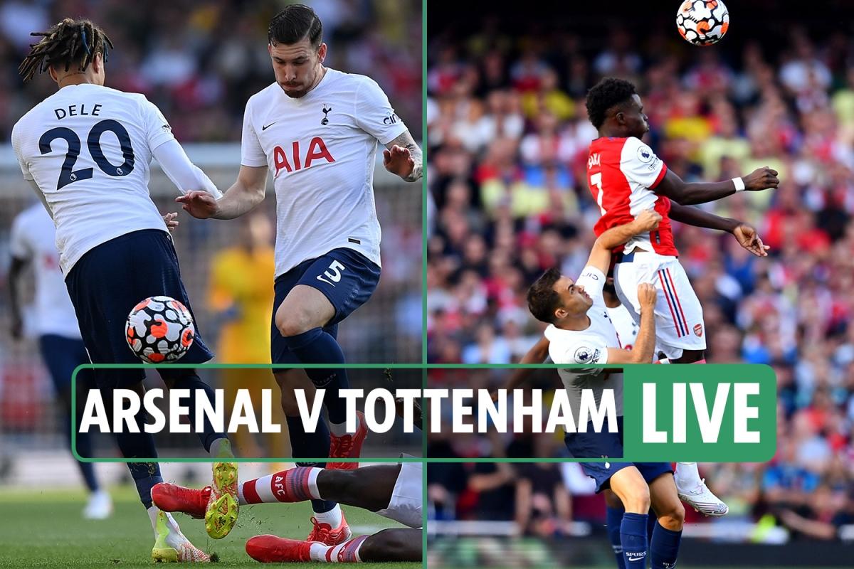 Arsenal vs Tottenham LIVE: Stream, score, TV channel, team news as North London derby UNDERWAY – latest updates