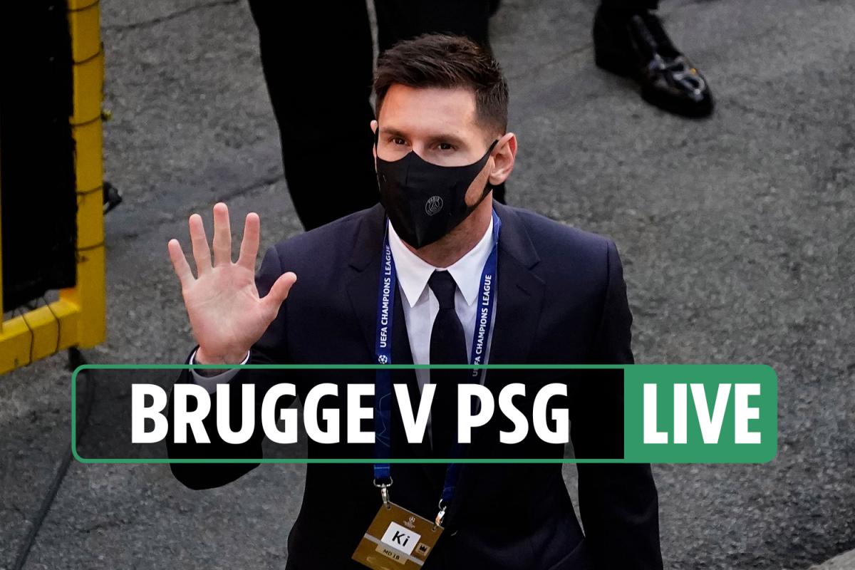 Club Brugge vs PSG LIVE: Stream FREE, score, TV channel as Messi, Neymar, Mbappe START – Champions League latest updates