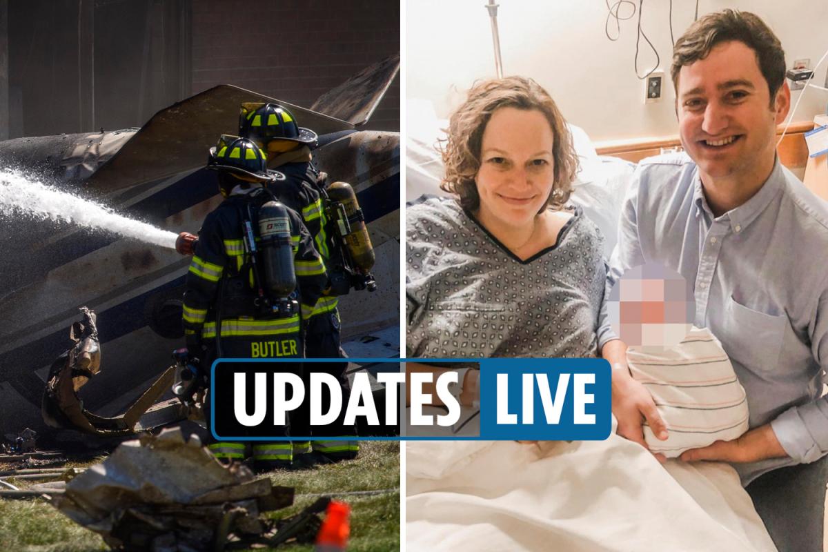 Connecticut plane crash LIVE – Four victims of Farmington disaster identified as it emerges tragic couple were pregnant