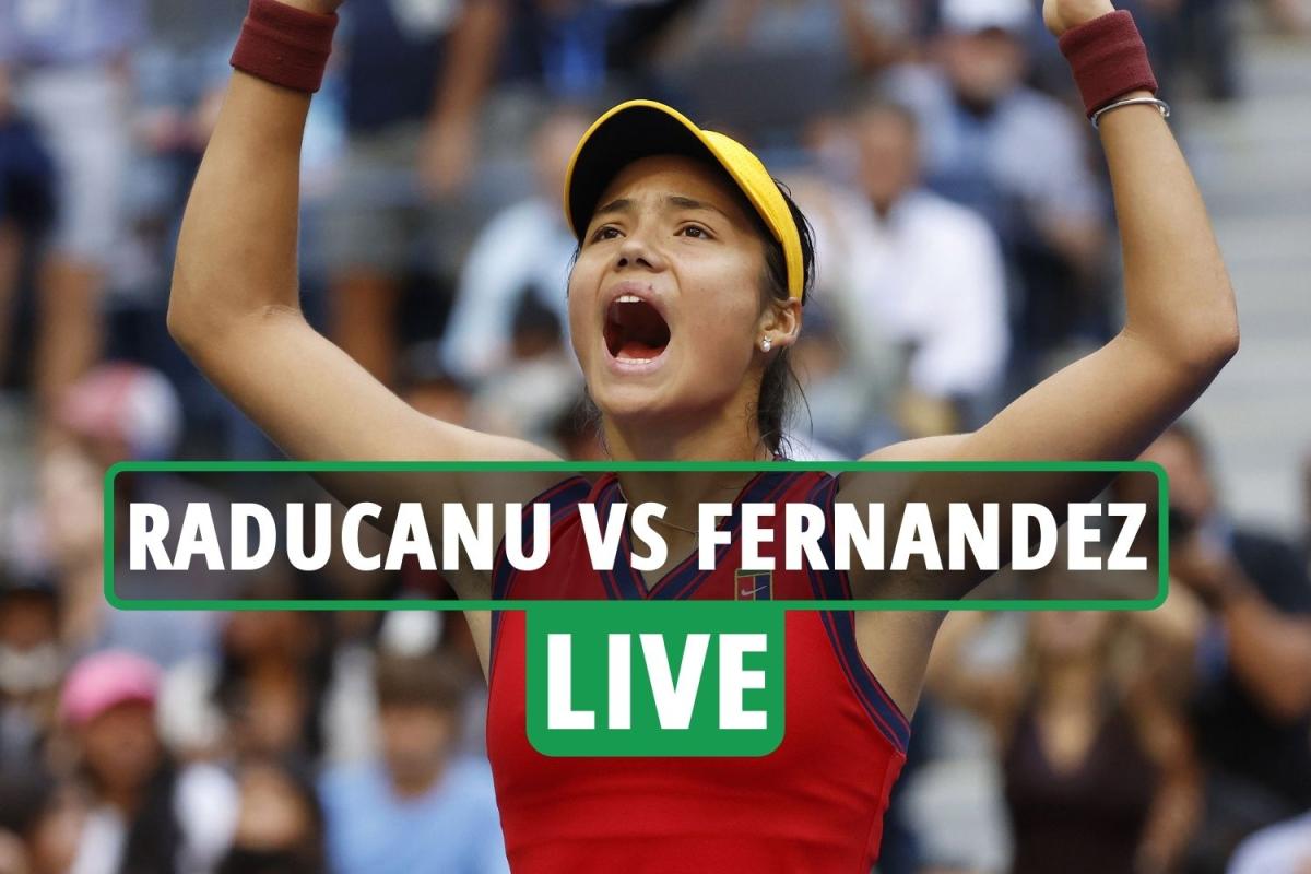 Emma Raducanu vs Leylah Fernandez LIVE SCORE: Brit BREAKS in 2nd set – stream, TV channel, US Open final latest updates