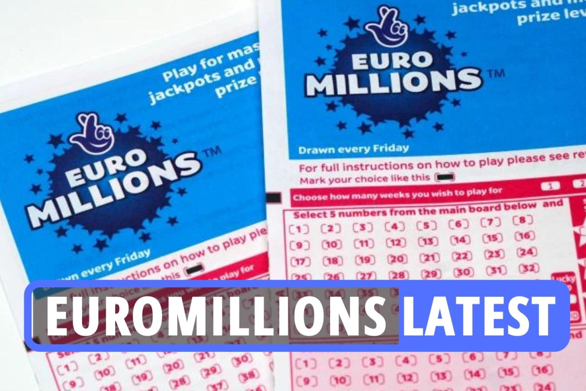 EuroMillions results LATEST: One player scoops huge £22million top prize as National Lottery jackpot set at £2m TONIGHT