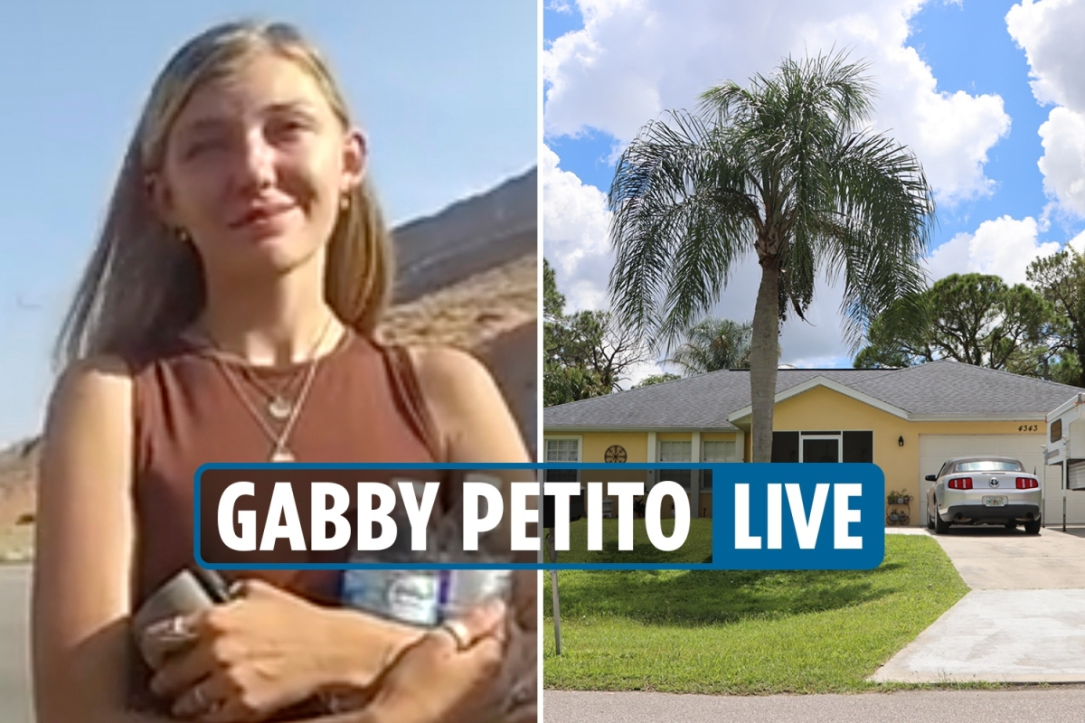 Gabby Petito update – Police seen entering Brian Laundrie's house for the first time since she was reported missing