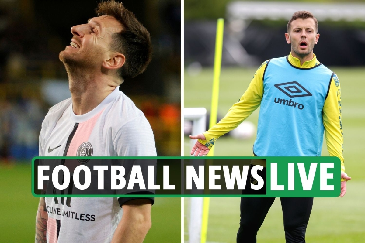Lionel Messi struggling to settle at PSG, Wilshere Arsenal transfer LATEST, Pele surgery UPDATES