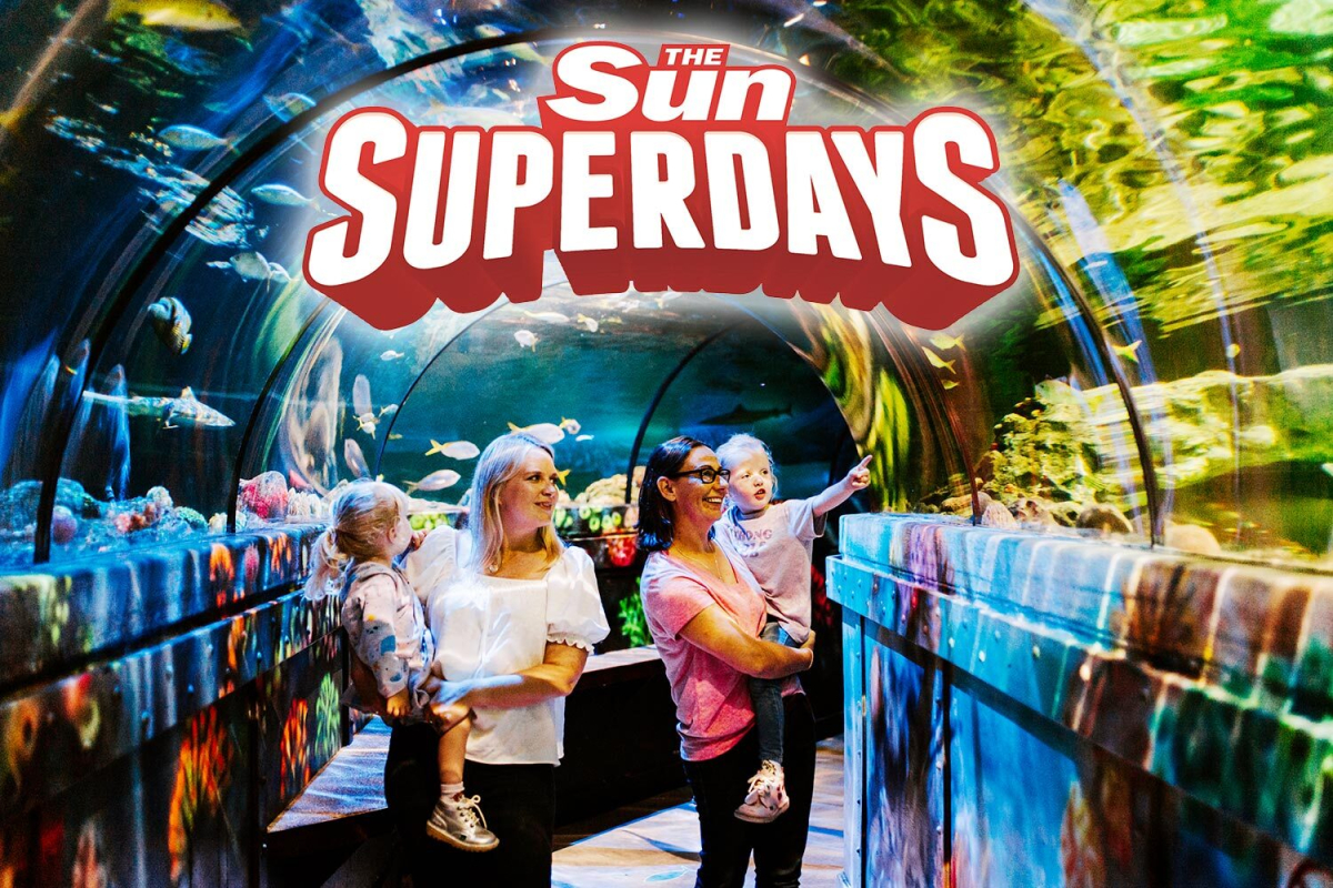 Make large savings on fun family days out with Sun Superdays