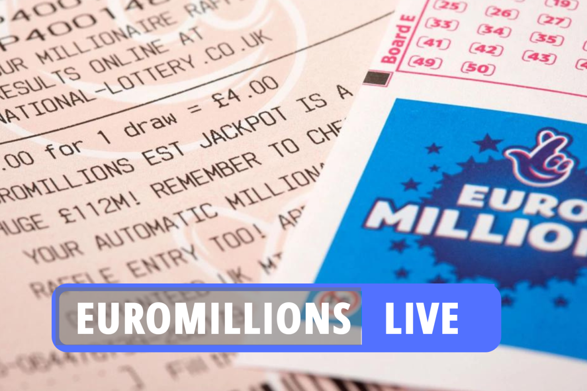 National Lottery results LATEST: Winning EuroMillions numbers for £14.1m jackpot revealed ahead of Lotto draw tonight