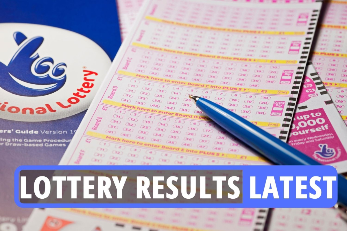 National Lottery results LIVE: Set for Life numbers revealed in £10k a month for 30 years jackpot as Brit wins £1m prize