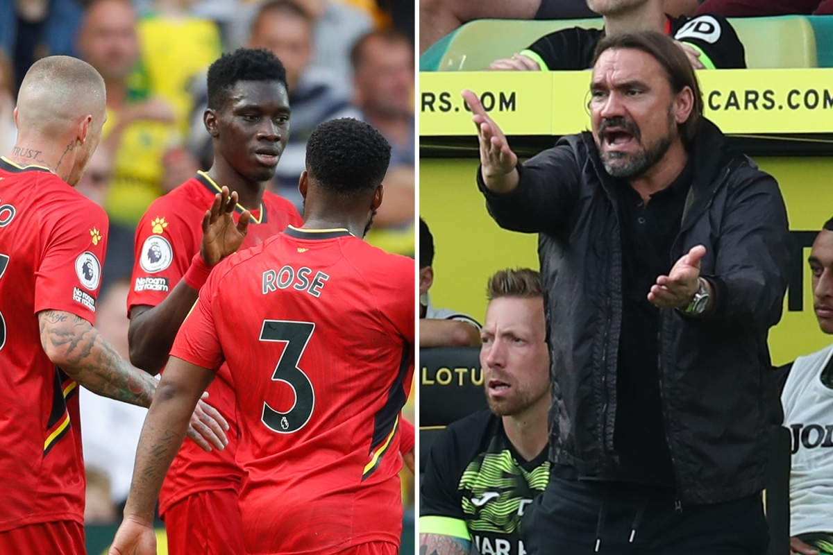 Norwich 1 Watford 3: Dennis goal and Sarr double seals three points as visitors inflict fifth straight loss on Canaries