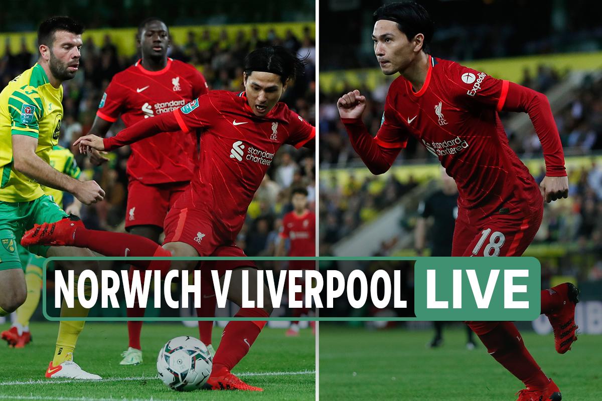 Norwich vs Liverpool LIVE: Stream, score, TV channel, team news as Minamino and Origi on target – latest updates