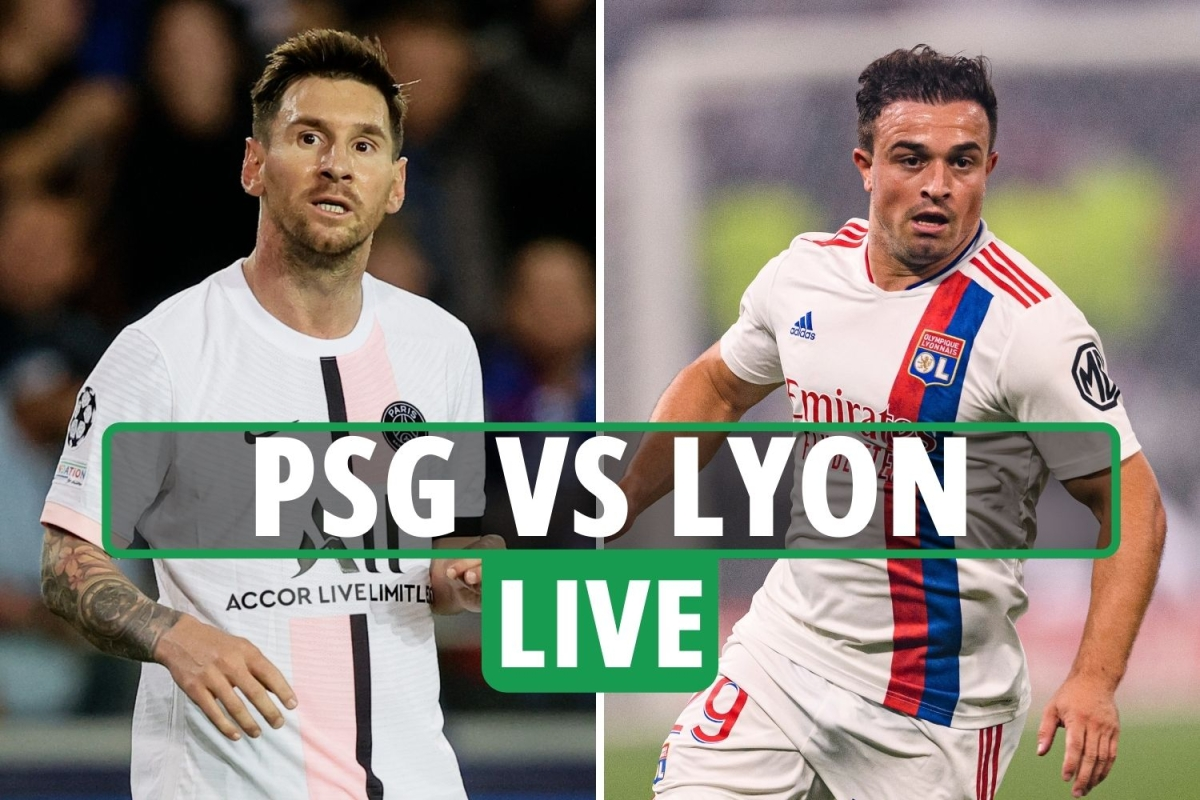 PSG vs Lyon LIVE: Stream free, TV channel, kick-off time and team news – Messi set for home debut in Ligue 1
