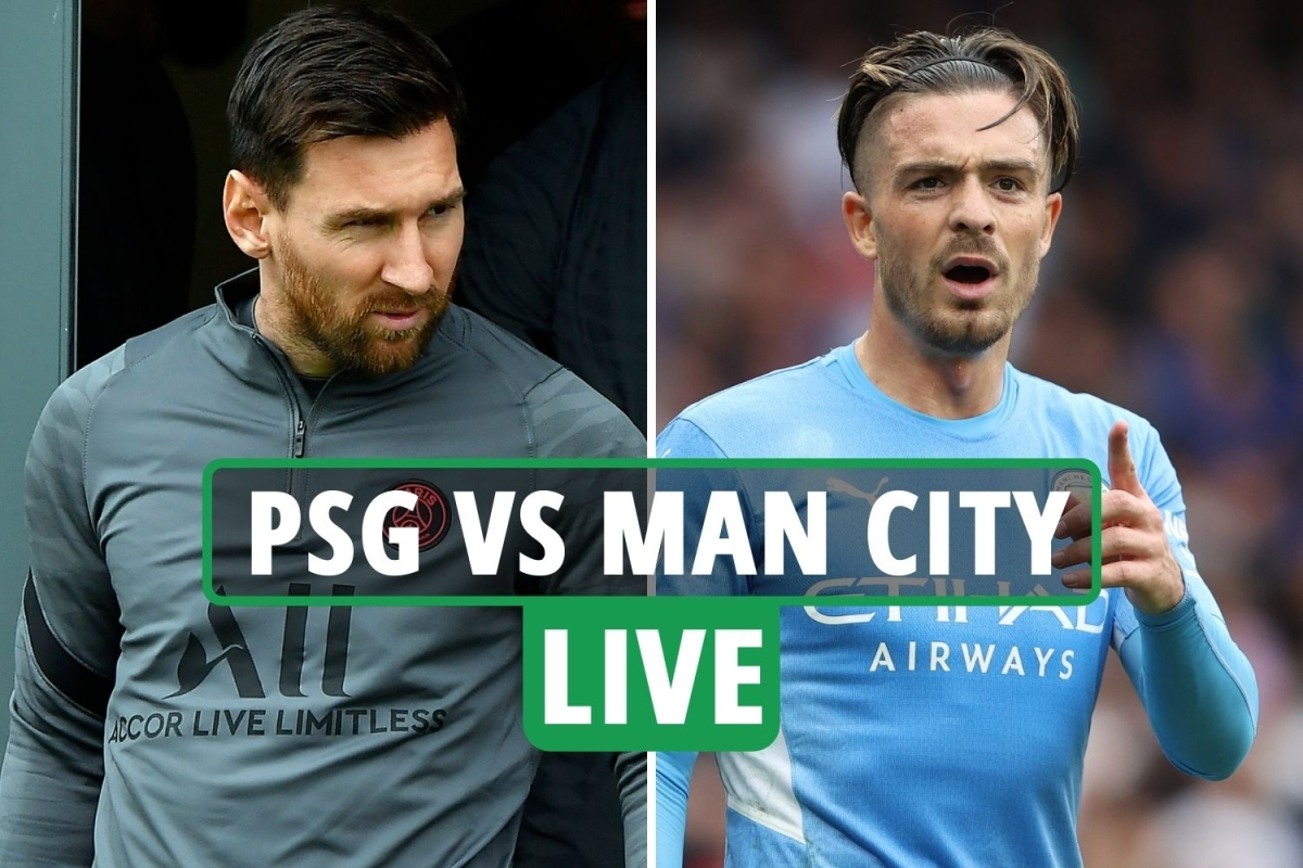 PSG vs Man City LIVE: Stream FREE, TV channel, team news, Messi updates & kick-off time for Champions League clash