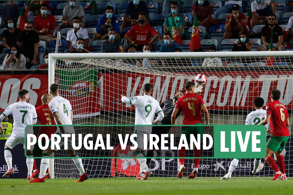 Portugal vs Ireland LIVE SCORE: Stream, TV channel, team news, game as Irish lead, Ronaldo MISSES penalty – updates