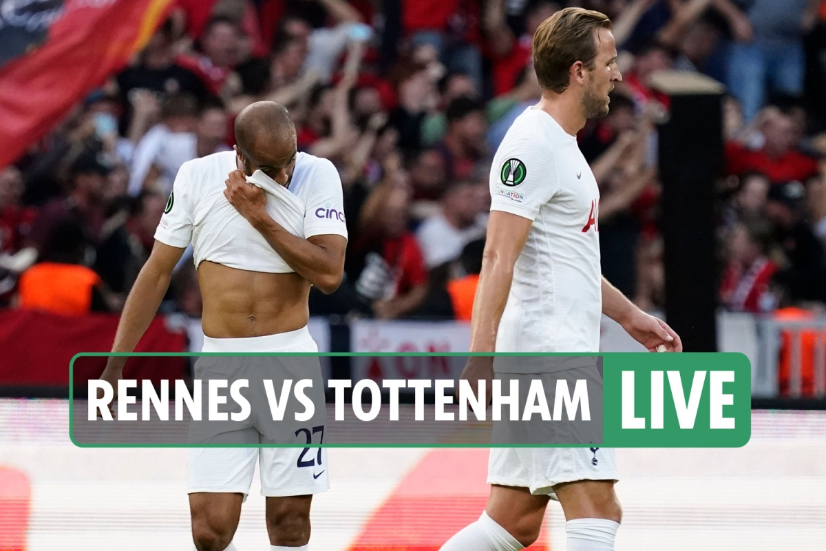 Rennes 2 Tottenham 2 LIVE REACTION: Hojbjerg nets late leveller to salvage point for Spurs in Conference League opener