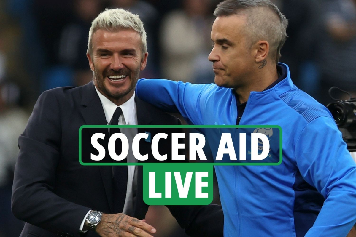 Soccer Aid 2021 LIVE – England vs World XI: Latest as Seedorf HITS POST – stream, TV channel, team line-ups, updates