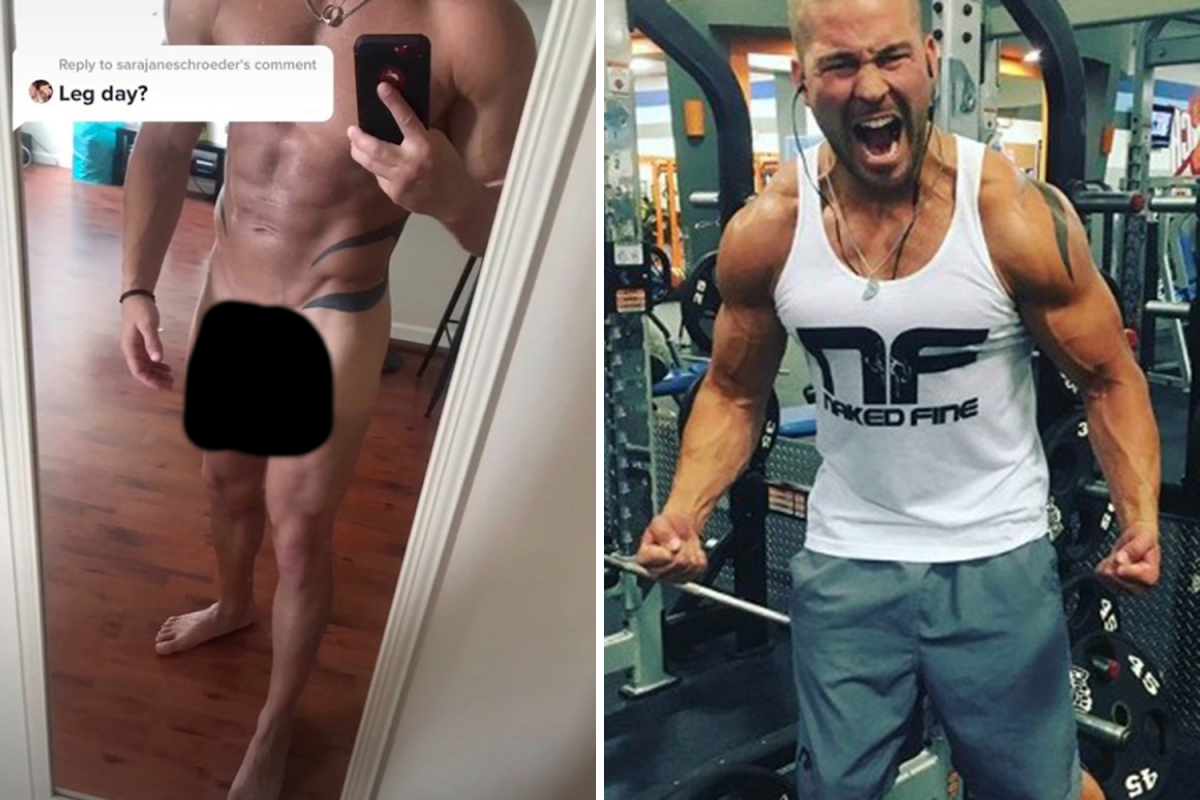 Teen Mom fans shocked as Jenelle Evans' ex Nathan Griffith posts completely naked photo on TikTok to show off 'leg day'