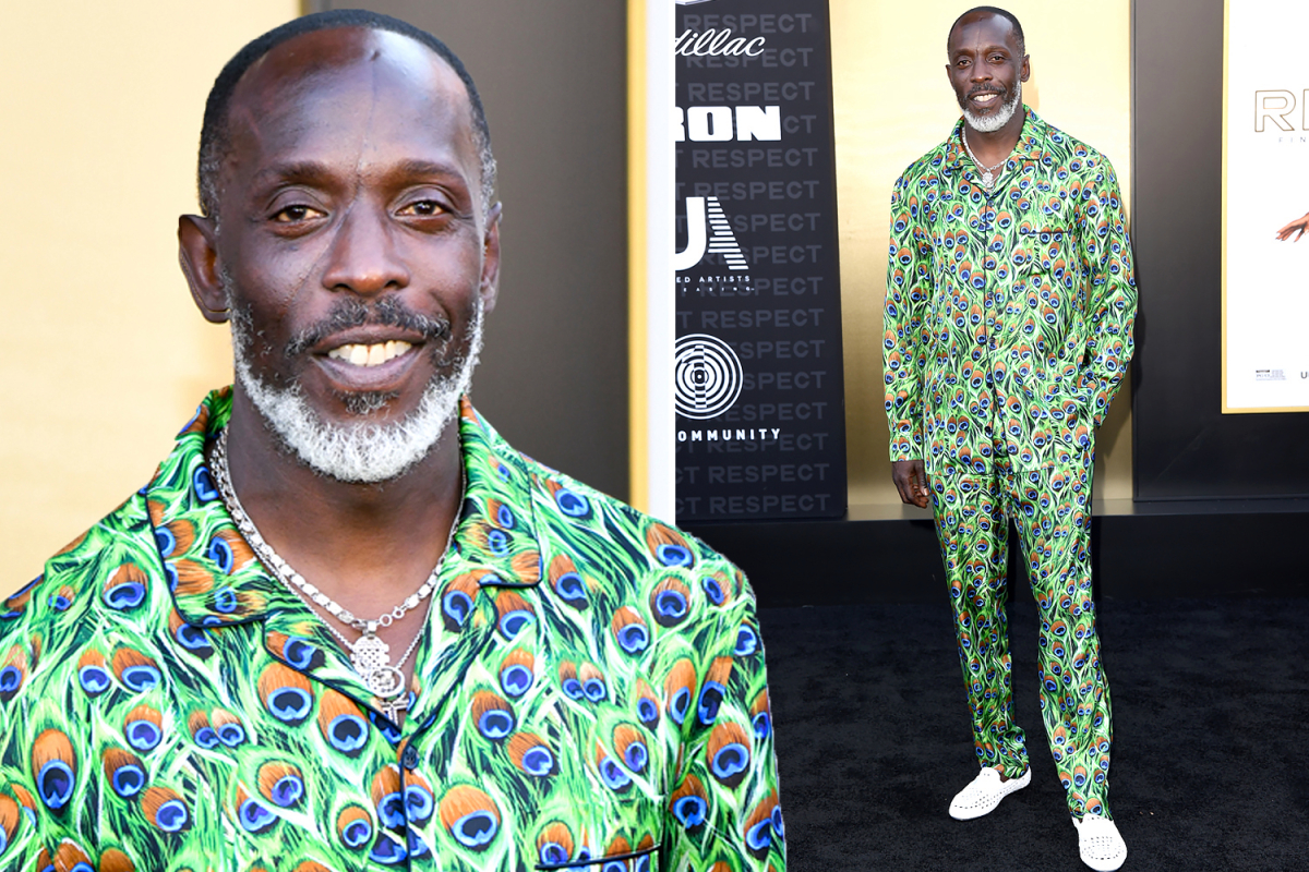 The Wire's Michael K Williams looked happy & healthy in final photo at Respect film premiere just weeks before death