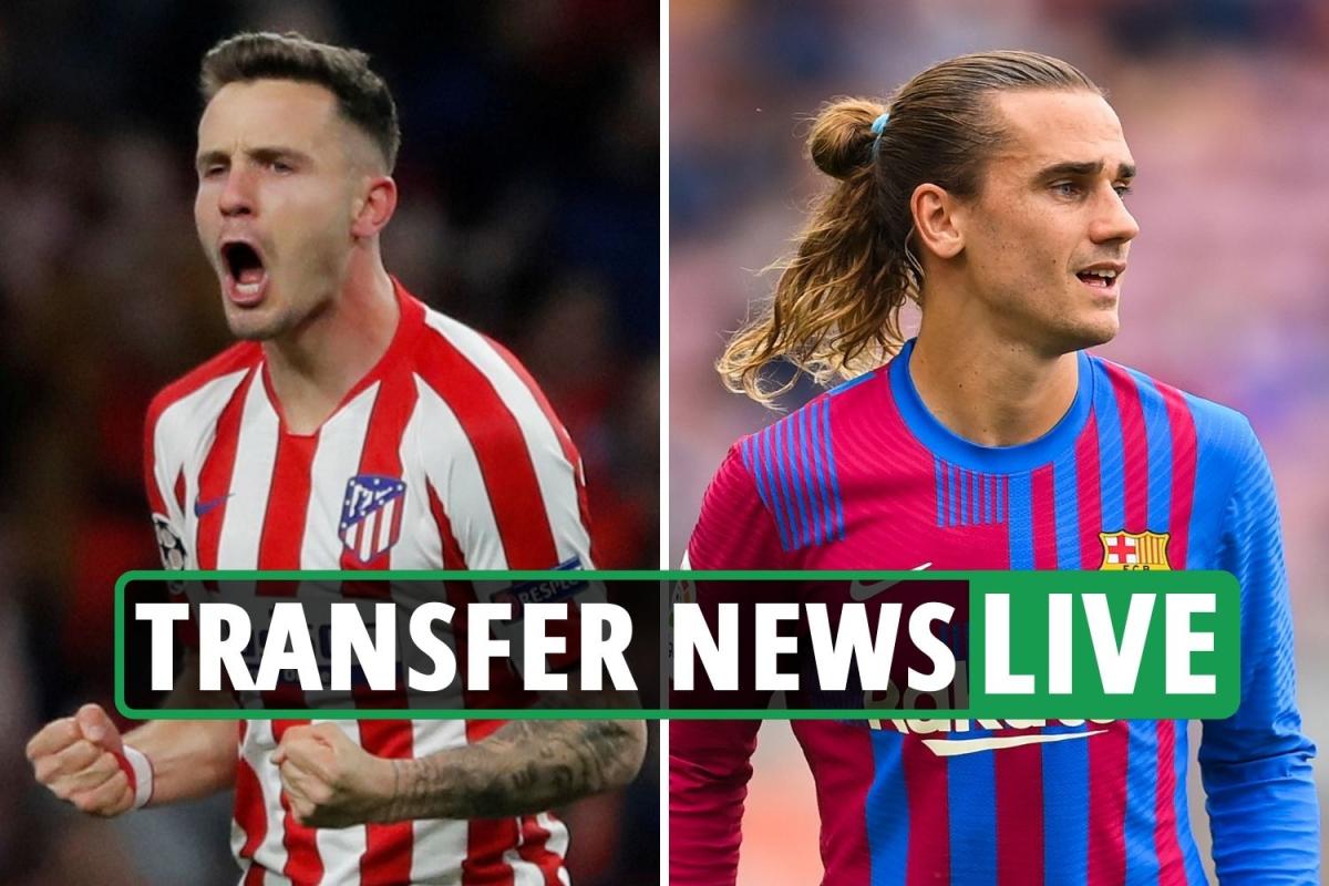 Transfer news LIVE: Saul Niguez first Chelsea training session, Wilshere denied Como switch, Griezmann rejoins Atletico